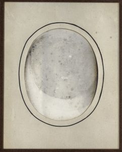 Eduard Isaac Asser, mislukte daguerreotypie, ca. 1842-1847 (Collectie Rijksmuseum)