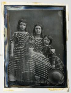 Jeanne, Rosa en Carel Asser, ca. 1846, daguerreotypie, foto: Eduard I. Asser (Collectie Rijksmuseum Amsterdam)