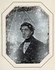 Henri Vriesendorp, 26 Juli 1842, daguerreotypie: Auvry (Stadsarchief Dordrecht, bruikleen familie Vriesendorp)