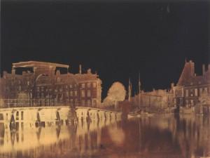 Halvemaansbrug bij de Kloveniersburgwal, 1857, foto: B.B. Turner (Stadsarchief Amsterdam)