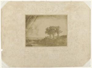 The Three Trees, 1854-1858, photo: Bisson frères (Rijksmuseum Amsterdam)