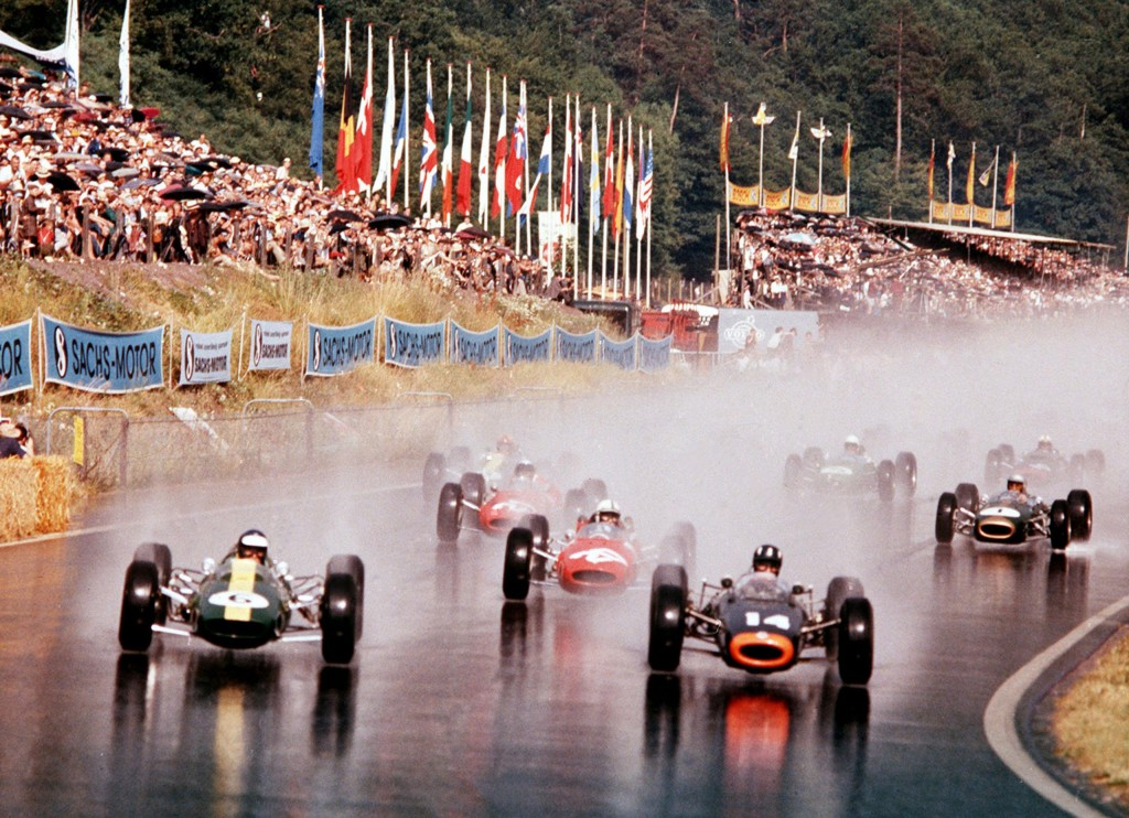 Start 14e Grand Prix, Solitudering, Stuttgart, 19 juli 1964 (foto: Erich Baumann)
