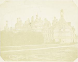 W.F. Talbot, Chateau de Chambord, 1843, zoutdruk (Rijksmuseum)